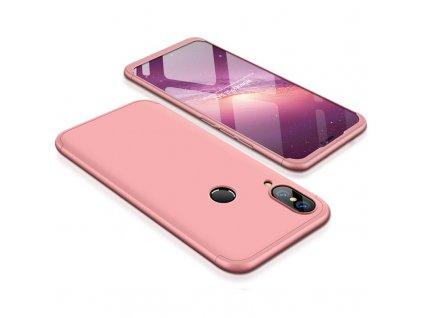 Pouzdro GKK 360 pro Huawei P20 Lite růžové