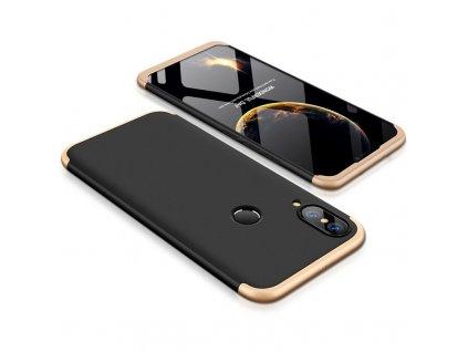 Pouzdro GKK 360 pro Huawei P20 Lite černá / zlatá