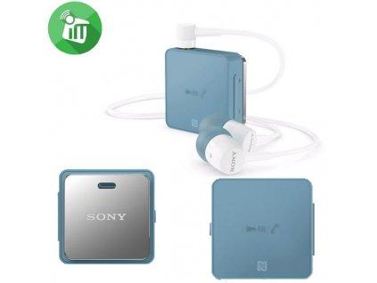Sony SBH24 bluetooth headset blue / modrý