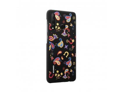 Pouzdro / kryt Huawei 51993073 pro Huawei P30 Lite Floral Black