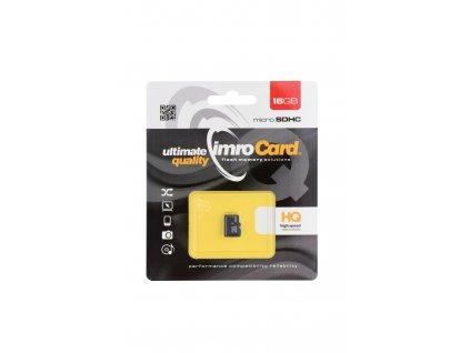 IMRO Micro SDHC 16GB (blister) Class 6