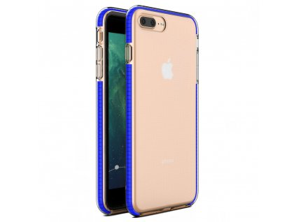 "Spring Case TPU pouzdro pro Apple iPhone 7+ / 8+ (5,5"") clear / blue"