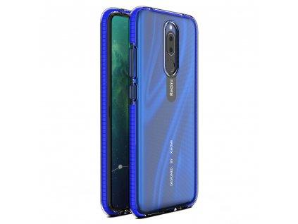 Spring Case TPU pouzdro pro Xiaomi RedMi 8A / RedMi 8 clear / blue