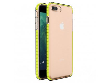 "Spring Case TPU pouzdro pro Apple iPhone 7+ / 8+ (5,5"") clear / yellow"