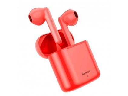Baseus TWS Encok W09 AirPod BT 5.0 bluetooth sluchátka červené