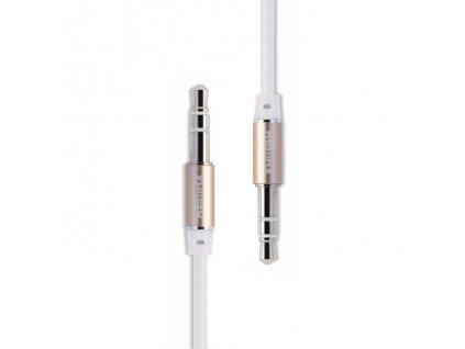 Remax Aux kabel - 3,5mm jack / 3,5mm jack / 2m bílý