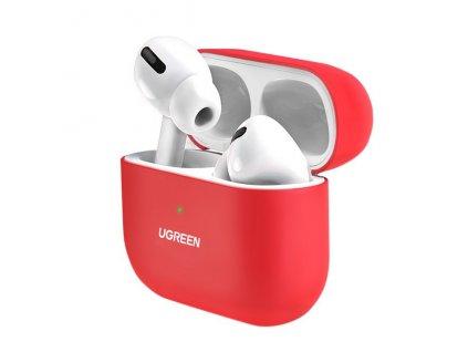 UGreen silikonové pouzdro pro Apple AirPods PRO červené