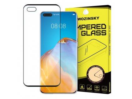 Wozinsky Full Glue tvrzené sklo Huawei P40 Lite / Nova 7i / Nova 6 SE černé 9111201894884