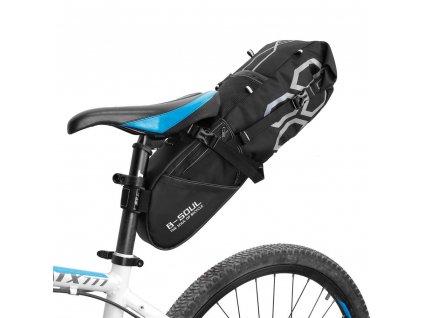 B-Soul taška na kolo / pod sedátko 12l černá