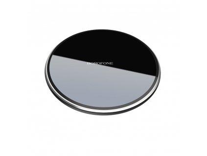 Borofone Preference BQ3 bezdrátová nabíječka 10W QI černá