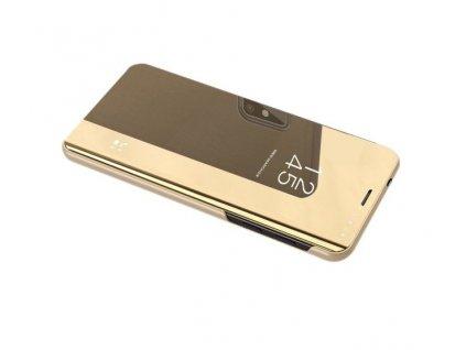 Pouzdro Clear View pro Huawei P10 Lite zlaté