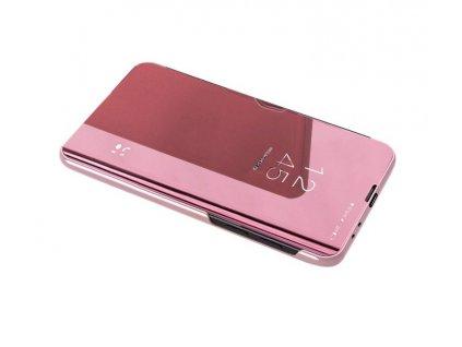 Pouzdro Clear View pro Samsung G930 Galaxy S7 růžové