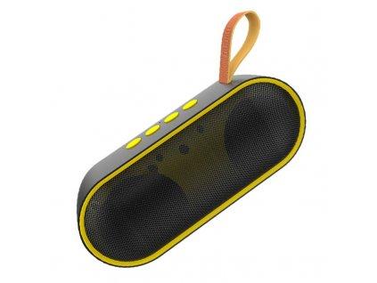 Dudao Y9 bezdrátový reproduktor BT 5.0 černá / žlutá