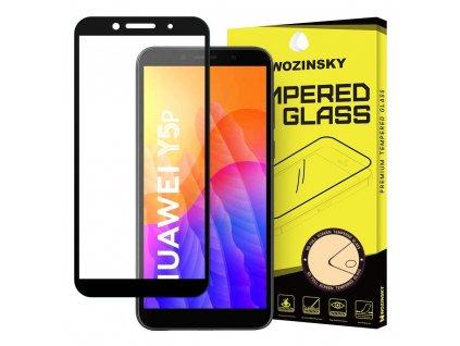 Wozinsky Full Glue tvrzené sklo Huawei Y5p černé 9111201905931