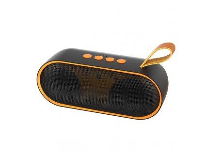 Dudao Y9 bezdrátový reproduktor BT 5.0 černá / oranžová