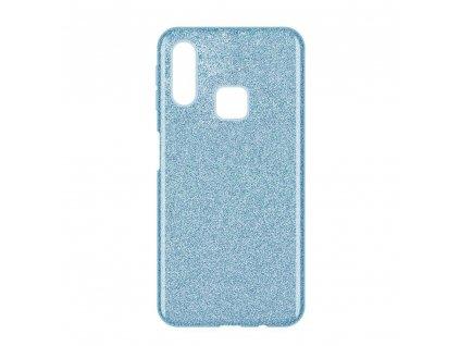 Pouzdro Glitter Case pro Samsung A40 světle modré