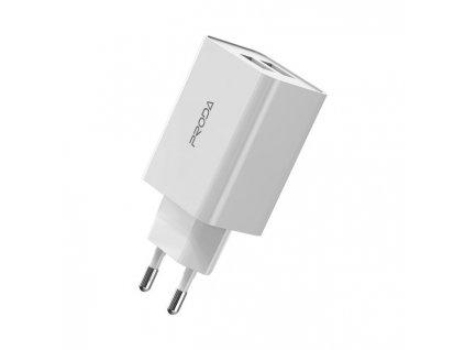 Proda PD-A28 nabíječka 2 x USB bílá