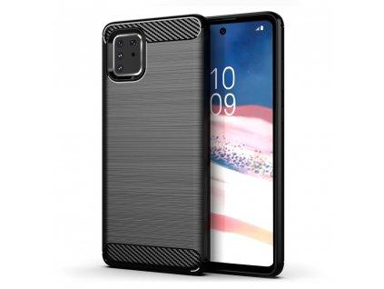 Pouzdro Carbon Case pro Samsung N770 Galaxy Note 10 Lite černé