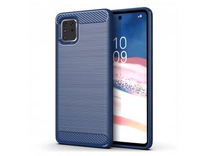 Pouzdro Carbon Case pro Samsung N770 Galaxy Note 10 Lite modré