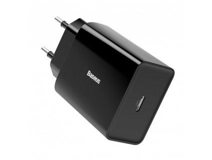 Baseus nabíječka CCFS-X01 USB-C PD 3A / 18W / QC 3.0 černá