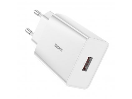Baseus nabíječka USB 3A / 18W / QC 3.0 CCFS-W02 bílá