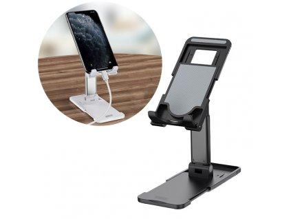 Remax RL-CH15 stolní držák na tablet / mobilní telefon černý
