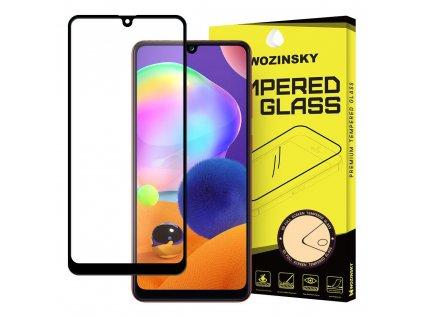 Wozinsky Full Glue tvrzené sklo Samsung A31 černé 9111201905917