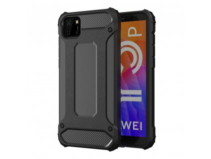 Hybrid Armor Case odolné pouzdro pro Huawei Y5p černé