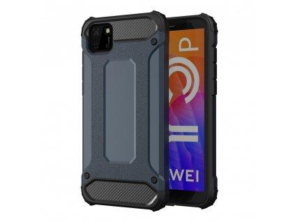 Hybrid Armor Case odolné pouzdro pro Huawei Y5p modré