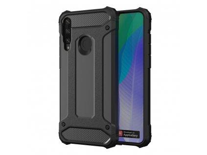 Hybrid Armor Case odolné pouzdro pro Huawei Y6p černé