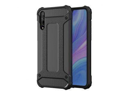 Hybrid Armor Case odolné pouzdro pro Huawei P Smart S / Y8p černé
