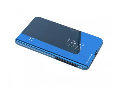 Pouzdro Clear View pro Samsung Galaxy A21s modré