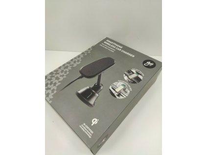 GOJI G10WMAG19 držák s bezdrátovým nabíjením 10W + USB dobíječ černý
