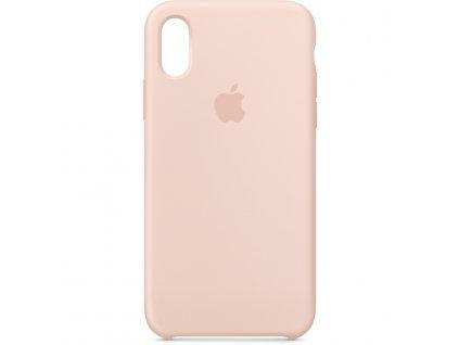 Apple MTF82ZM/A pouzdro iPhone X / Xs sand pink (volně, rozbaleno)