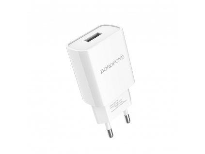 Borofone BA20A USB nabíječka 2,1A bílá