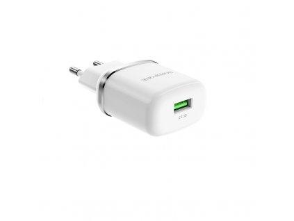 Borofone BA36A USB nabíječka QC 3.0 / 18W bílá