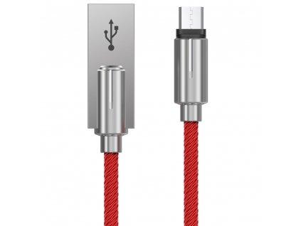 Devia Storm kabel Micro USB / 1m / 2,1A červený