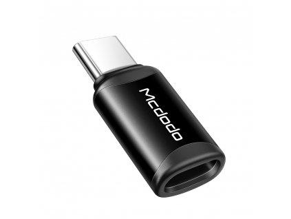 MCDODO adaptér iPhone Lightning na USB-C černý