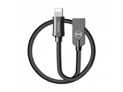 MCDODO CA-3921 USB kabel pro iPhone / Lightning 2,4A / 1,2m - černý