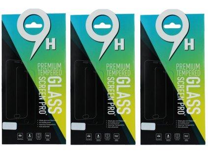9H ochranné tvrzené sklo 3ks pro Samsung A21 / A21S / A80, 5900495851123
