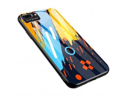 "Pouzdro Color Glass pro Apple iPhone 7+/8+ (5,5"") (pattern 1)"