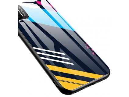 Pouzdro Color Glass pro Apple iPhone Xr (pattern 2)