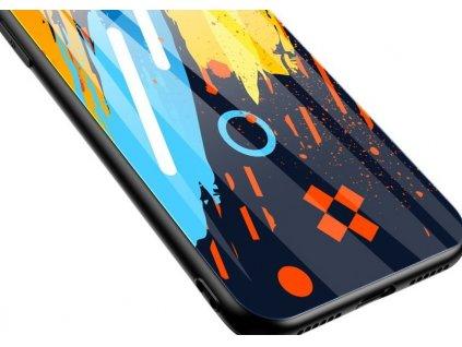 Pouzdro Color Glass pro Xiaomi RedMi Note 9 Pro / RedMi Note 9S (pattern 1)