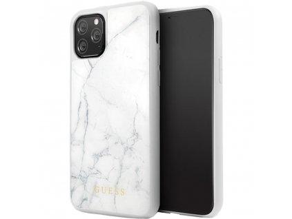Guess kryt pro iPhone 11 PRO bílý, GUHCN58HYMAWH