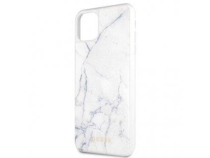 Guess kryt pro iPhone 11 PRO MAX bílý, GUHCN65HYMAWH