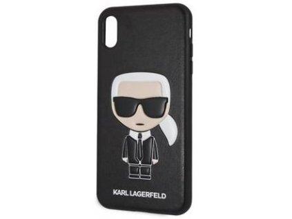 Karl Lagerfeld kryt pro iPhone Xs MAX černý, KLHCI65IKPUBK