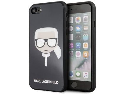 "Karl Lagerfeld kryt pro iPhone 7 / 8 (4,7"") / SE 2020 černý, KLHCI8DLHBK"