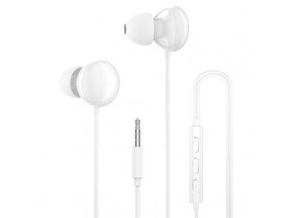 Dudao X11 Pro handsfree sluchátka iOS / Android - univerzální 3,5mm jack bílé