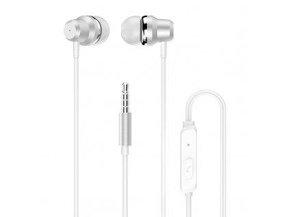Dudao X10 Pro handsfree sluchátka iOS / Android - univerzální 3,5mm jack bílé