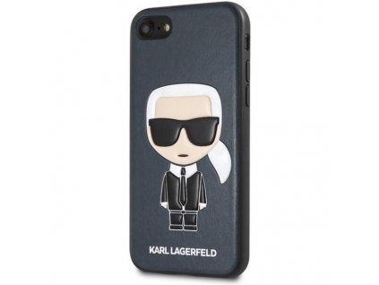 """Karl Lagerfeld kryt pro iPhone 7 / 8 (4,7"""") / SE 2020 modrý, KLHCI8IKPUBL"""
